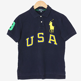 POLO BY RALPH LAUREN코튼반팔카라티 / Kids M(10-12)